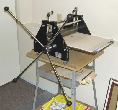 Printing Press for Linocut