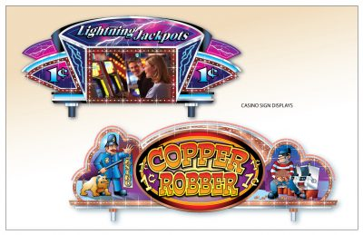 Casino Signs - Adobe Illustrator Graphics by Peter Durand
